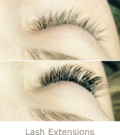 Before and After Lash Extensions | Athena Skin and body, Medical Spa in Raleigh, NC